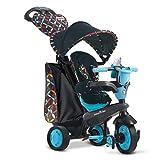 Smart Trike- Dreirad Tricycle évolutif Boutique, STBTS1595202, Noir/Bleu