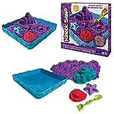 Kinetic Sand-Playset Castelli di Sabbia Modelli/Colori Assortiti, 6028092