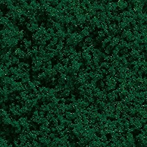 Auhagen 76652Nieve Oscuro Verde Fina de Espuma