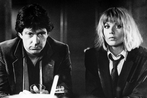 Glynis Barber in suit & tie Michael Brandon Dempsey and Makepeace 24x36inch (60x91cm) Poster