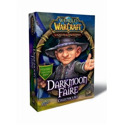 World of Warcraft TCG WoW Trading Card Game Darkmoon Faire Collector's Set [Toy] (Trading Card World Of Warcraft)