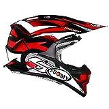 Suomy Casque Moto Cross Alpha Bike, Rouge, XL
