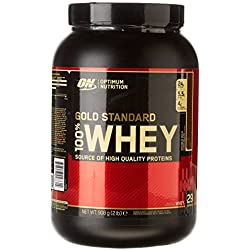 Optimum Nutrition Gold Standard 100% Whey Double Rich Chocolate Protein Powder, 908 g by Optimum Nutrition
