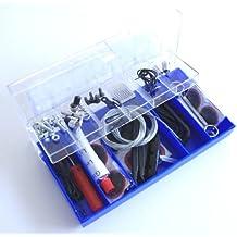 64 pezzi-Kit di riparazione per bicicletta, utensili essenziali e pezzi di ricambio