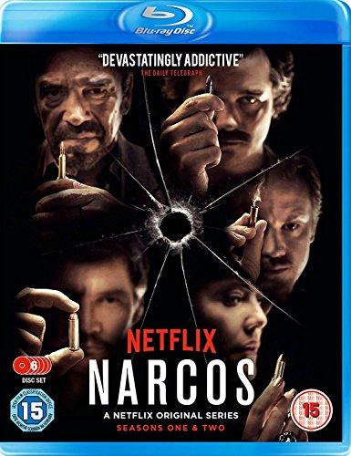 Narcos Season 1 & 2 Boxset [Blu-ray] [UK Import]
