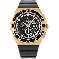 Omega 121.62.41.50.01.001 - Reloj de pulsera hombre, caucho