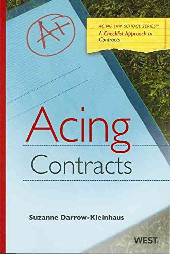 [(Acing Contracts)] [By (author) Suzanne Darrow-Kleinhaus] published on (April, 2010)