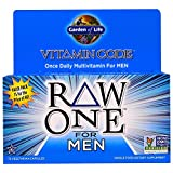 Garden of Life, Vitamin Code, Raw One, Once Daily Raw Multi-Vitamin For Men