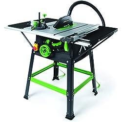 Evolution 5S 255mm Power Tools Fury 5-S Scie s/Table Multi-matériaux, 255 mm, Vert/Noir