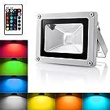 WoneNice10W RGB LED farbiger Scheinwerfer Fluter Flutlicht Wasserdichte Dekorative Lampe in