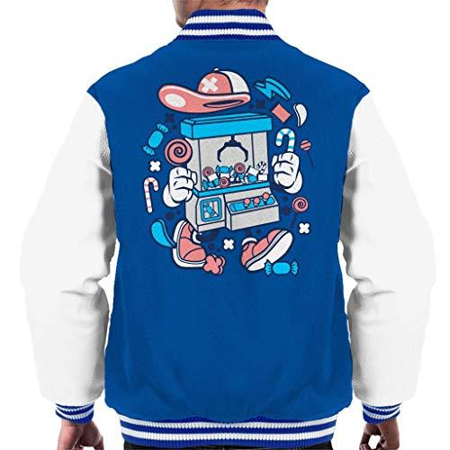 Sweetie Crane Machine Men's Varsity Jacket