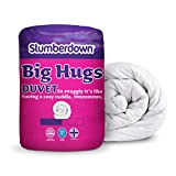 Slumberdown Big Hugs - Piumone matrimoniale, 13.5 Tog, Bianco, King