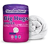 Slumberdown Big Hugs Winter Warm 15 Tog Duvet, White, King Size