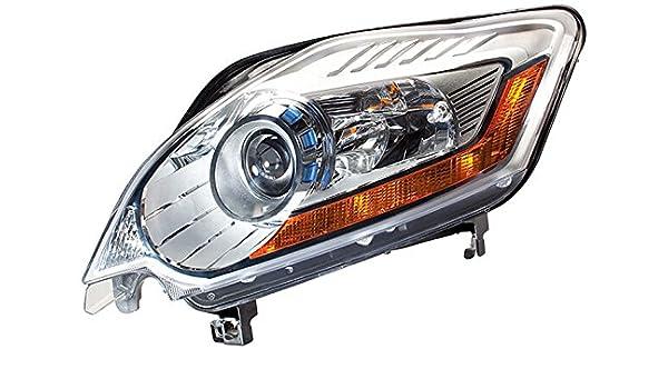 Ohne Kurvenlicht mit Stellmotor f/ür LWR HELLA 1EL 009 648-391 Bi-Xenon Hauptscheinwerfer Links