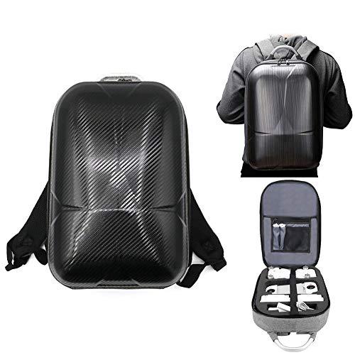 youngfate Drohnen Tasche Tragetasche für XiaoMi FIMI X8SE Rucksack Wasserdicht Kohlenstoff Faser Harte Schale Tasche, 40x26x16cm
