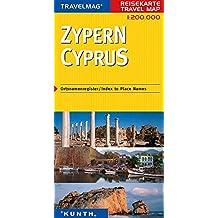 Reisekarte : Zypern