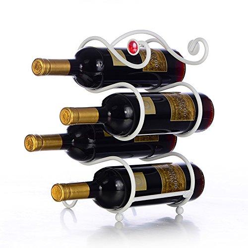 Kreative Wine Rack home Wohnzimmer Bügeleisen Edelstahl Weinschrank Weinregal