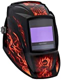 Miller 257217 Inferno Welding Helmet, Series Elite Digital, Flames