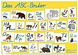 mindmemo Lernposter - Das ABC Poster: Schreibschrift (Schulausgangsschrift) Lernen kinderleicht - DinA2 PremiumEdition
