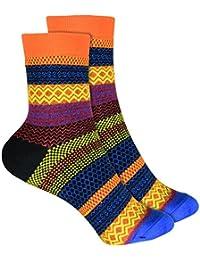 Amazon.es  Naranja - Calcetines cortos   Calcetines y medias  Ropa 4167b540d5b65