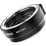 Adapter Ring for Canon EF and EF-S to EOS M-Meike MK-C-AF4