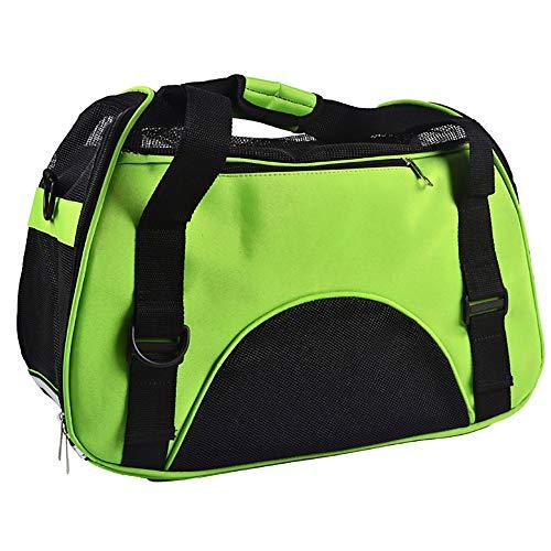 ZMMA Katzenbox Transportbox Tragetasche des Haustierbeutels heraus, Haustierart und weisemaschennetzreis-Kuchentasche Leichte Reisetasche Tasche
