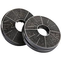 CIARRA Filtre à Charbon Actif CBCF002X2 Pour Ciarra Hotte Aspirante Filtrant Odeurs Extracteur de Cuisine Recyclage Air