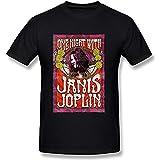 Photo de Taiyan-JBJ Men's Janis Joplin Art T-shirt Black Tee par Taiyan-JBJ