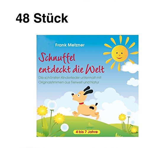 48 Stück Neptun CD Schnuffel entdeckt die Welt Frank Metzner Audio CD 1032