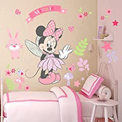 Idea Regalo - Disney - Adesivo da parete di Minnie
