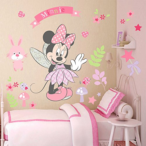 Vinilo de pared Minnie Mouse