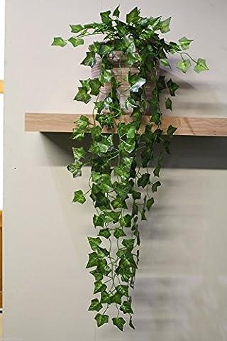 Best Artificial (TM) 100cm Trailing Ivy Garland Hanging Vine String Plant (English - TI03)