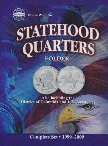 Official Whitman Statehood Quarters Folder por Whitman Coin Book & Supplies