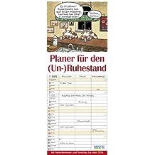 Planer für den (Un-)Ruhestand 2015: Familientimer mit Ferienterminen und Vorschau bis März 2016