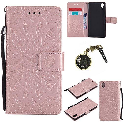 Preisvergleich Produktbild PU Silikon Schutzhülle Handyhülle Painted pc case cover hülle Handy-Fall-Haut Shell Abdeckungen für Sony Xperia X Performance (12,7 cm (5 Zoll) +Staubstecker (6FF)