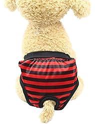 zolimx Productos para Mascotas, Verano Pantalones Sanitarios Mascotas Fisiológicas Bragas Higiénicas Pañales para Perros de
