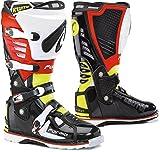 Forma Predator Motocross Stiefel 43 Schwarz/Rot/Gelb