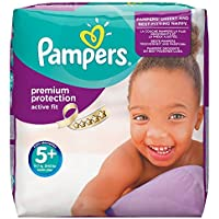 124-Pk Pampers Active Fit Nappies
