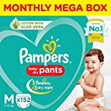 Pampers Diaper Pants Monthly Box Pack, Medium, 152 Count