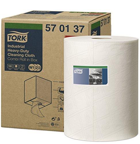 Tork 570137 Extra Starke Industrie Reinigungstücher für W1 Bodenständer/Wandhalter-, W2...
