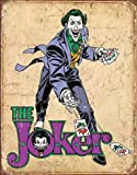 Harvesthouse DC Comics - The Joker 12 x 16 Metal Vintage Tin Sign Wall Decor