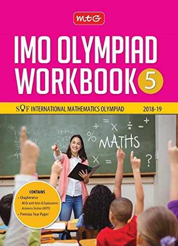 International Mathematics Olympiad Work Book (IMO) - Class 5 for 2018-19