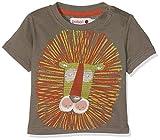 boboli 343066-8074, Camiseta para Bebé-Niños, Marrón (Topo), 4 años
