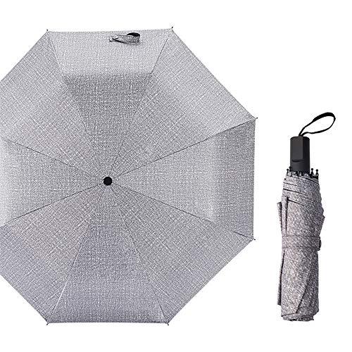 Jundy mini ombrello ultraleggero ultra protective - portatile compatto ombrello pieghevole ombrello da viaggioregalo ombrello in denim completamente automatico color4 98cm