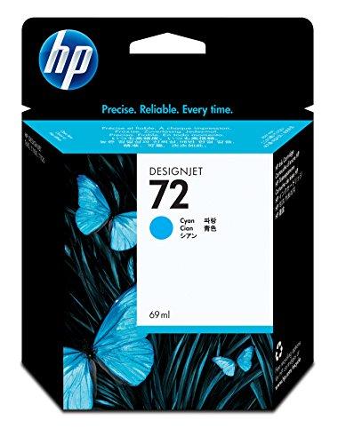 HP 72 Cartouche d'encre d'origine Photo Cyan Vivera 69 ml