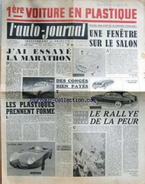 AUTO JOURNAL (L') [No 84] du 15/08/1953