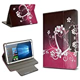 Universal Tablet Schutz Hülle 10-10.1 Zoll Tasche Schutzhülle Tab Case Cover Bag, Motiv:Motiv 1, Tablet Modell für:Excelvan BT-MT10
