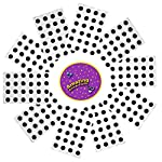 Amazing Arts and Crafts 240 Self Adhesive wiggle wiggly googly sticky eyes 15mm