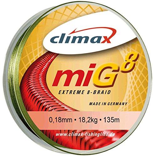 Climax miG 8 oliv-grün 0,16mm, 135m