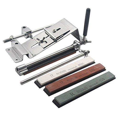 quick-sharpening Schleifstein Set, zarte Abrasiv Messerschärfer, Outdoor Winkel Messer Schleifstein
